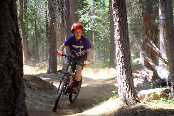 Mountain biking in Lincoln Valley