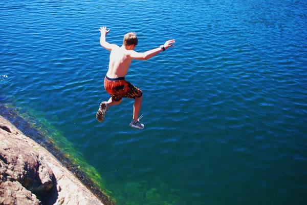 Lake Activities at Shaffer's High Sierra Summer Camp