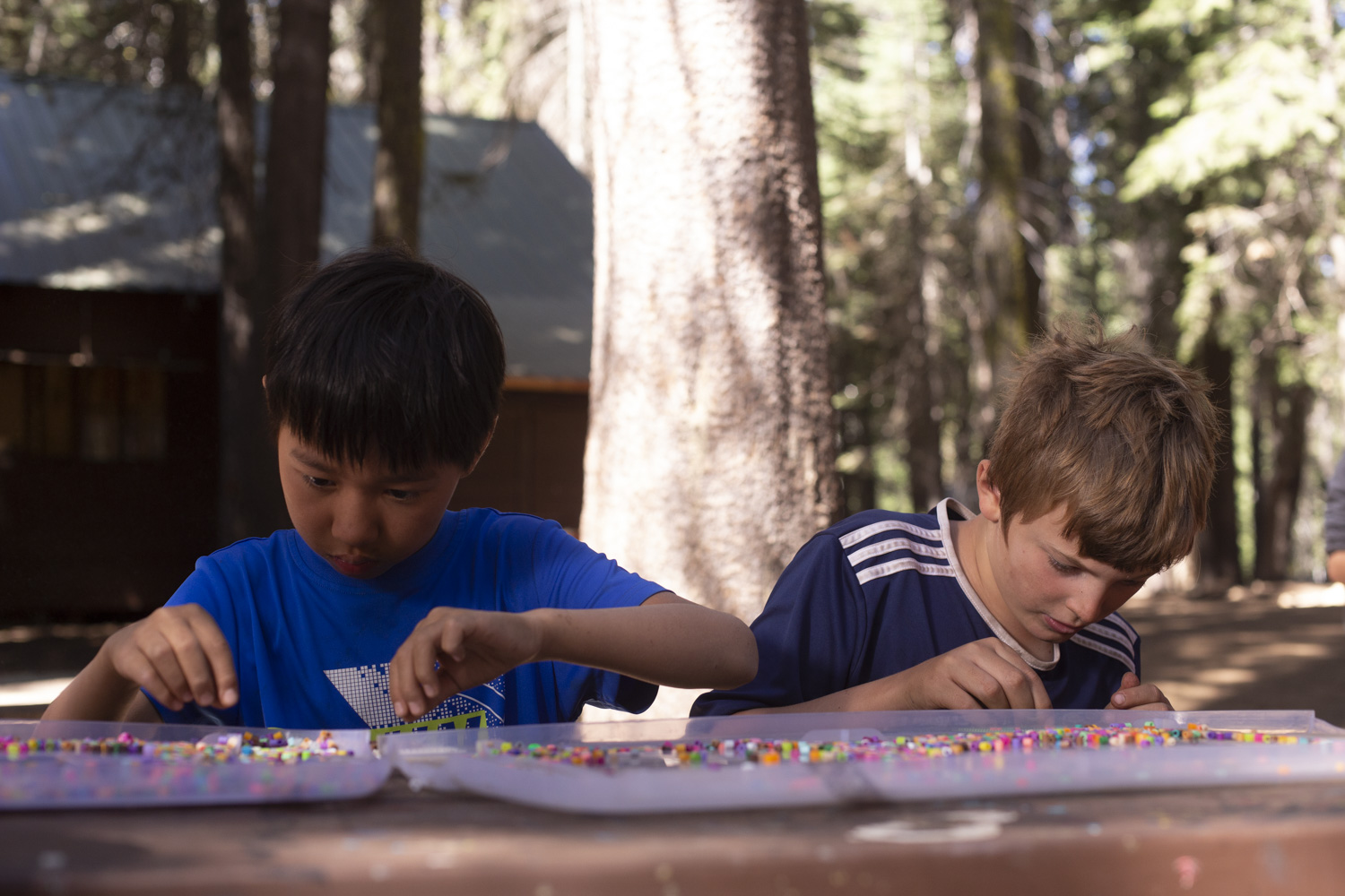 Summer camp can help your son grow.