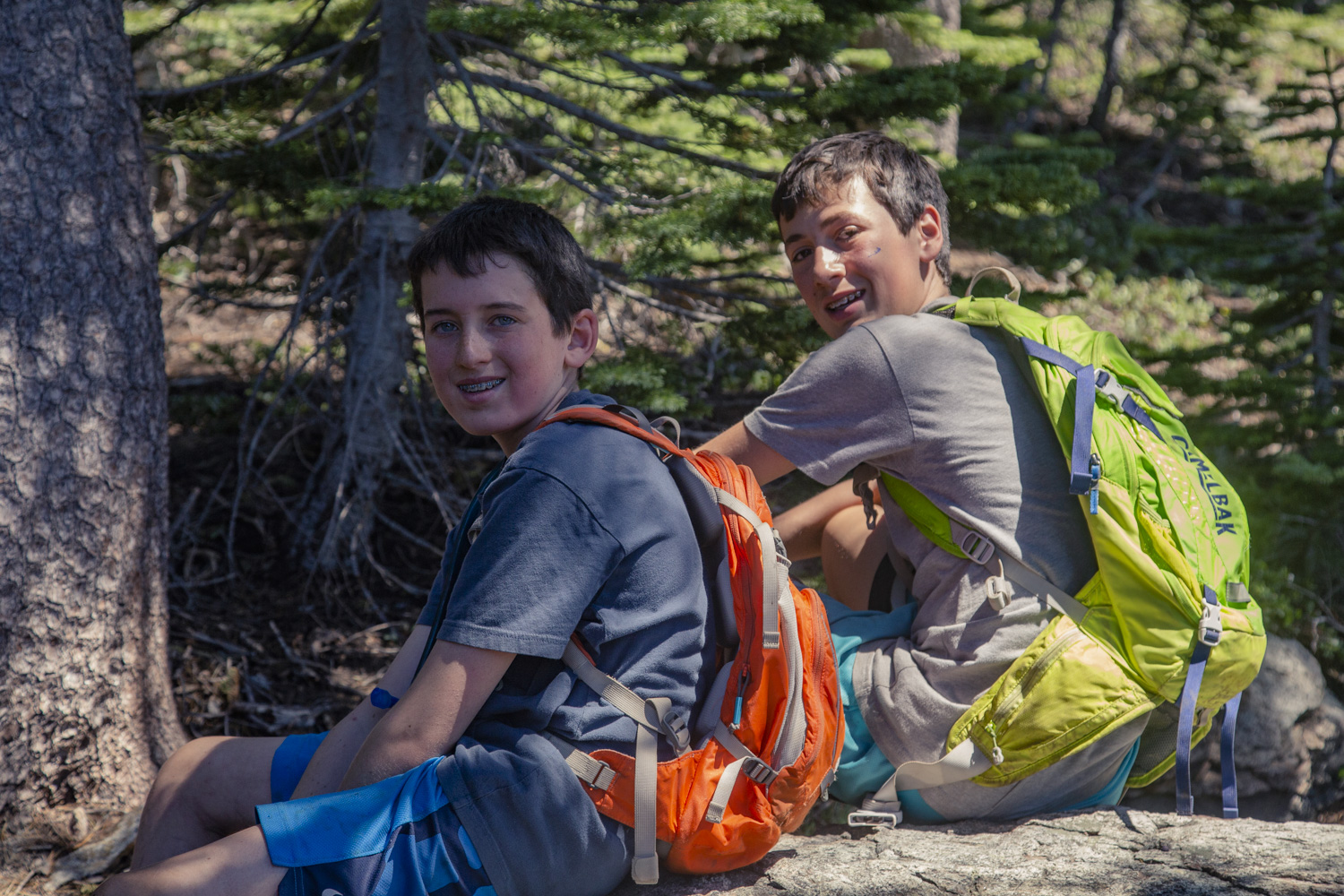 Summer camp can help your son's independence.