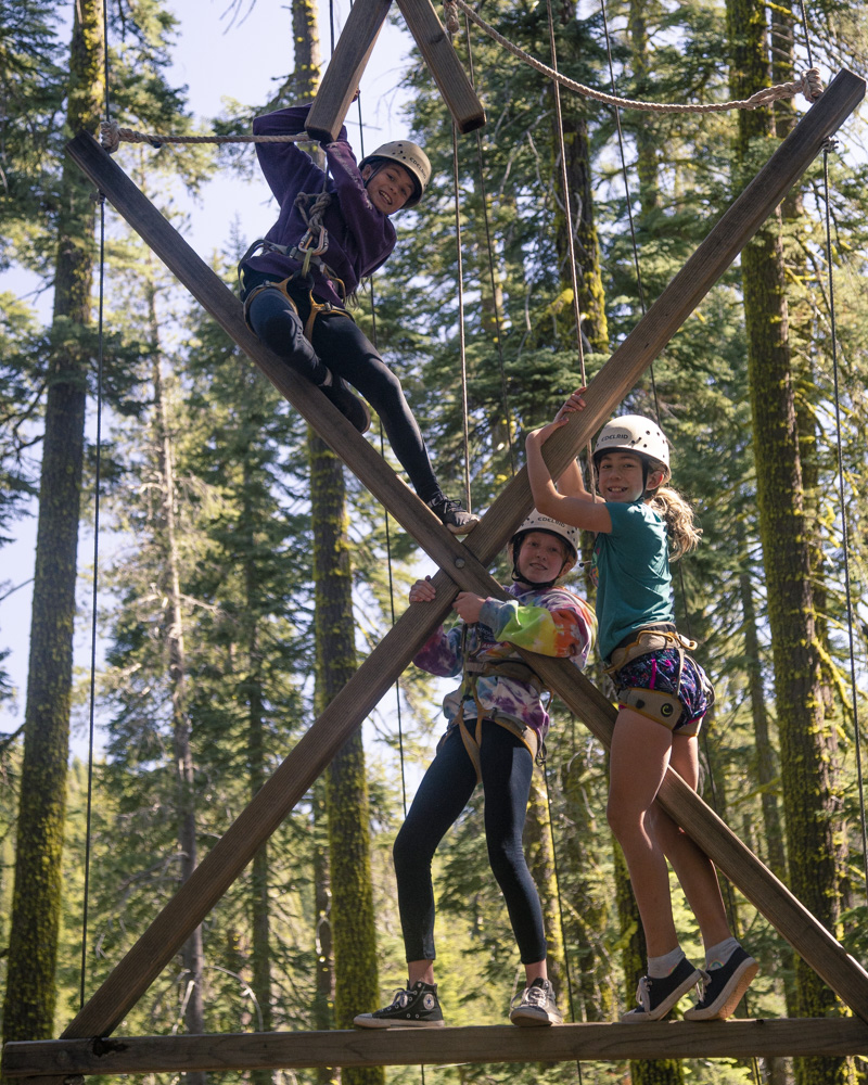 Summer camp can help your daughter's confidence.