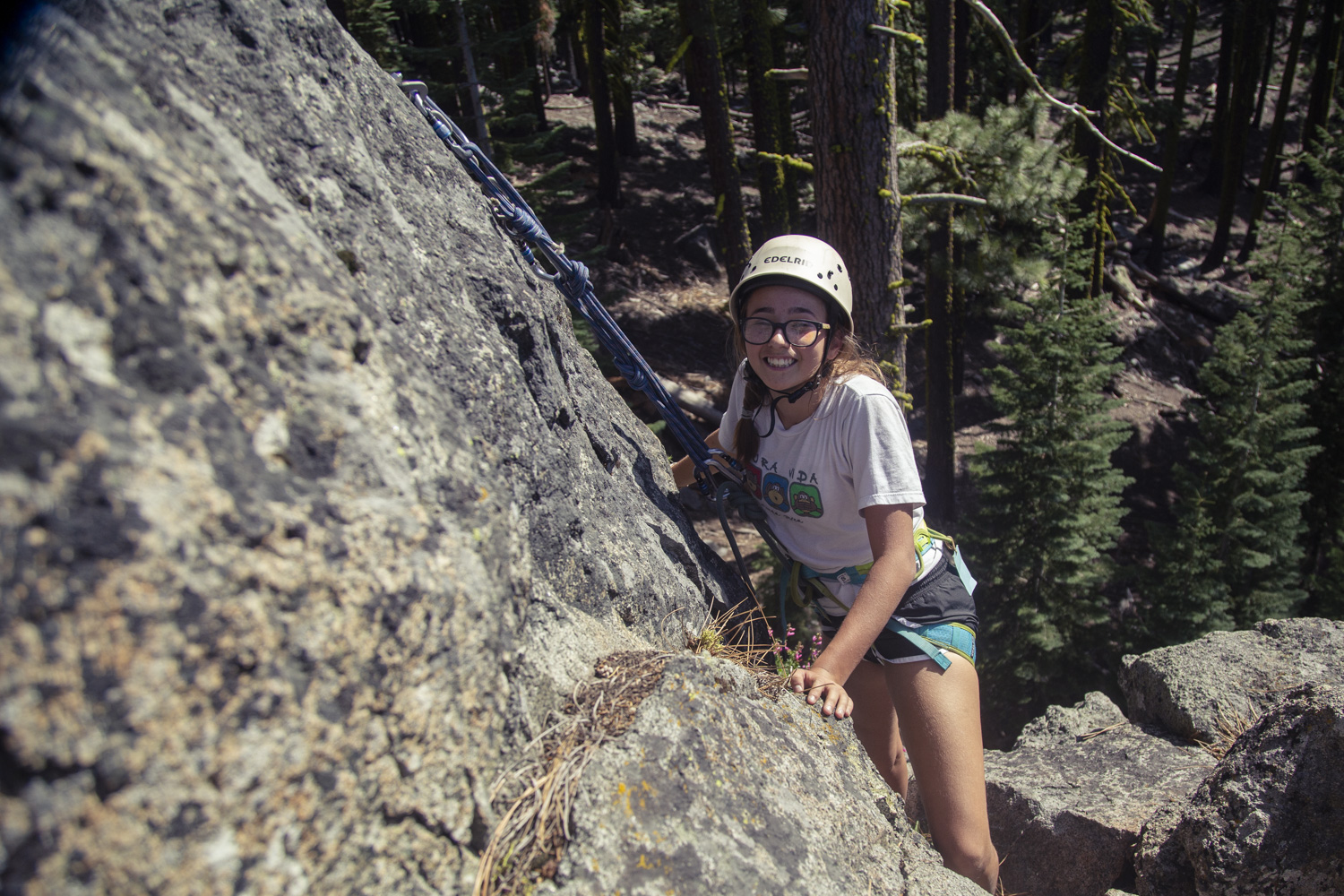 Summer camp helps girls build confidence.